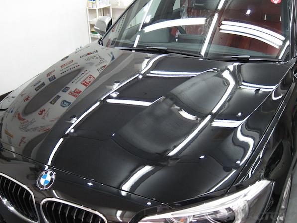 BMWM135iガラスコーティング施工、コーティング施工後の画像