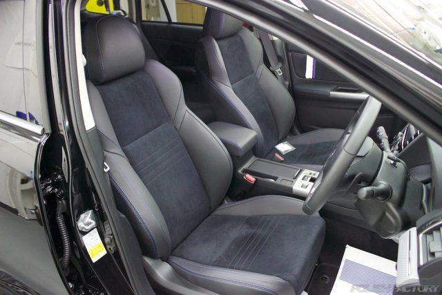近年のスバル車のシートはとても良くなった気がします。昔のシート(日本車全般)沈み込んでいましたね〜