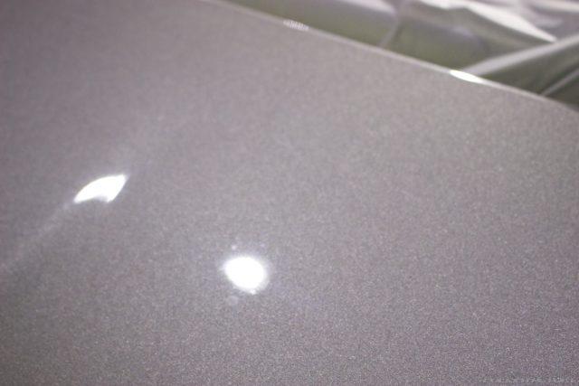 ガラスコーティングで入庫中のアバルト695エディツィオーネ マセラティの塗装画像