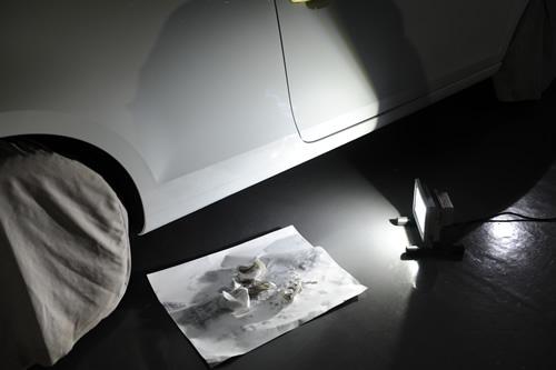 フォルクスワーゲンゴルフカブリオレガラスコーティング施工画像
