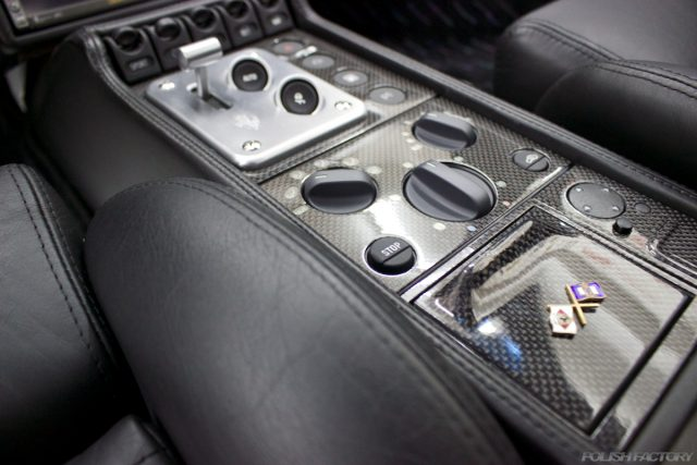 フェラーリF355センターコンソール画像