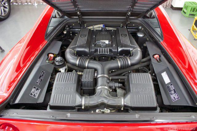 フェラーリF355エンジン画像