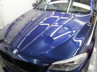 BMW528iコーティング施工画像 荒川区