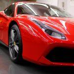 Ferrariフェラーリコーティング施工画像 東京 目黒