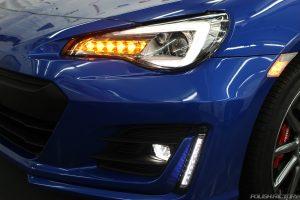 スバルBRZ GTの新車にコーティング施行、大田区よりお越しいただきました!