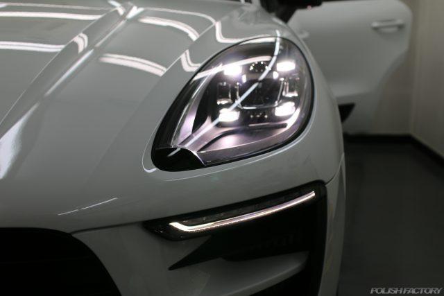新車ポルシェマカンGTSにガラスコーティング施行|都内江東区