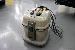 日立の掃除機流石モーターの日立だけあります。CV-96HもしくはCV-G1はプロも愛用するとても良い製品ポリッシュファクトリー