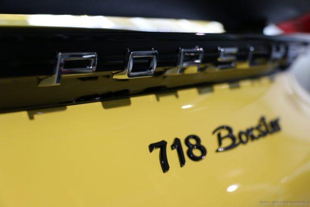 ポルシェ718ボクスターの新車コーティングでご入庫|施工画像|埼玉県さいたま市より