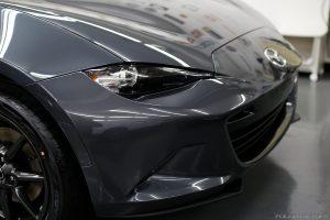 マツダ・ロードスターNR-Aの新車にガラスコーティング施行|横浜市から