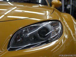 マツダロードスターNC-2の車磨きとカーコーティング施工事例画像|静岡県、御殿場市より