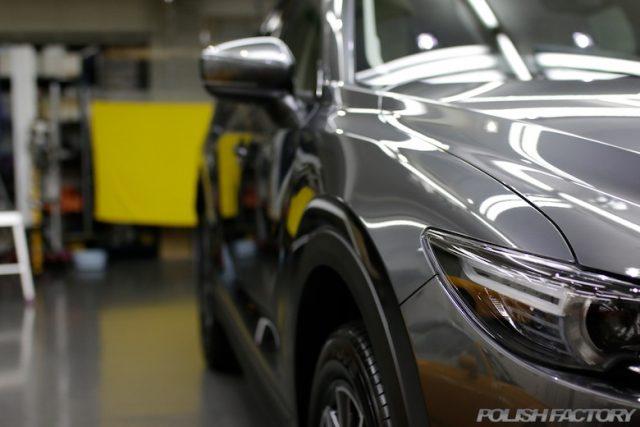 マツダCX-5のボディにカーコーティング施行画像