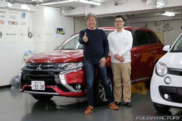 モータージャーナリスト、自動車評論家国沢光宏さんにポリッシュファクトリー、ガラスコーティングの推薦のお言葉を頂きました。