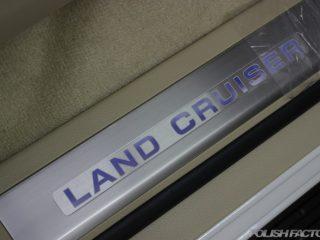 世田谷区よりお越し、トヨタのSUVのフラッグシップ、ランドクルーザーの磨きとコーティングにお越しいただきました