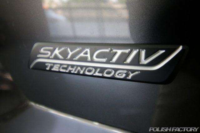 相模原市よりお越しのマツダCX-5の新車のガラスコーティング施工事例