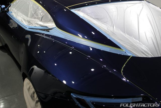 アストンマーチンDB11 V12カーコーティング施工画像