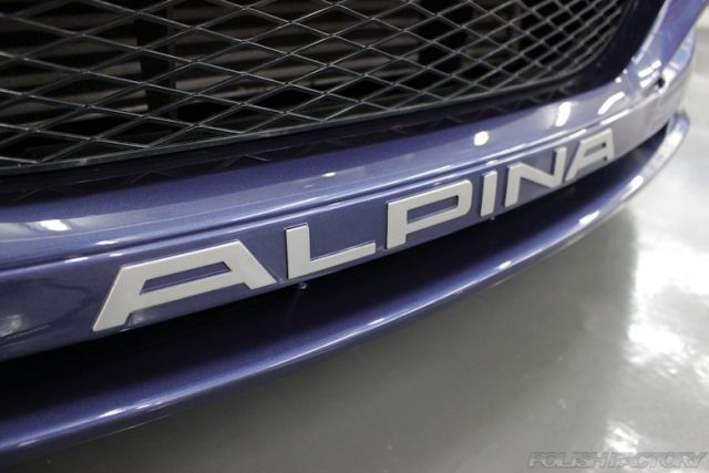 ALPINA D3-Biturboカーコーティング施工画像