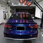 Audi S3 セダン 車磨きとコーティング施工