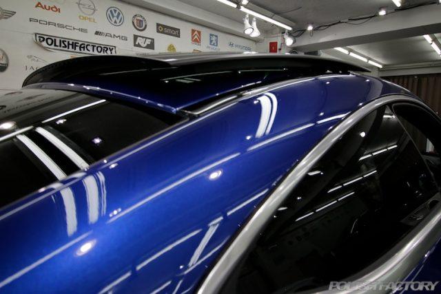 Mercedes-Benz_C180クーペカーコーティング施工画像