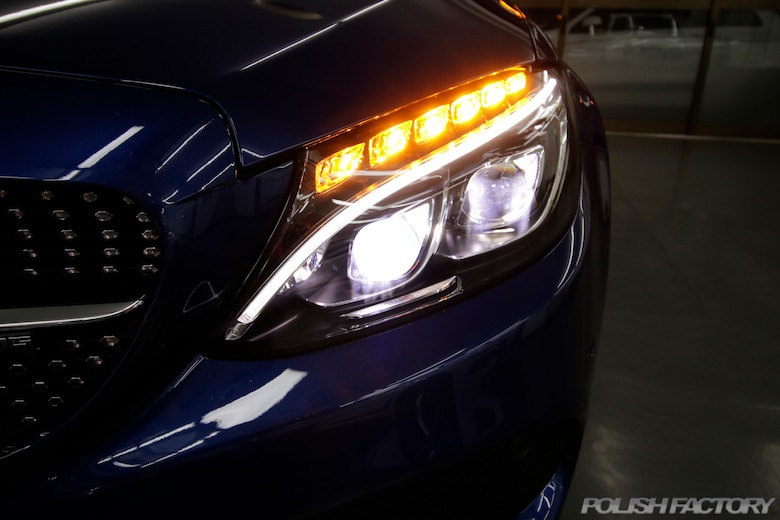Mercedes-Benz C43AMG カブリオレカーコーティング