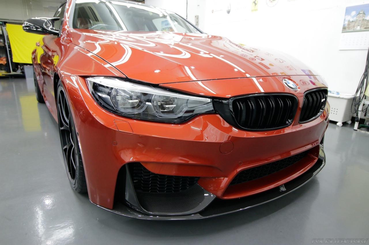 BMW M4 サキールオレンジ