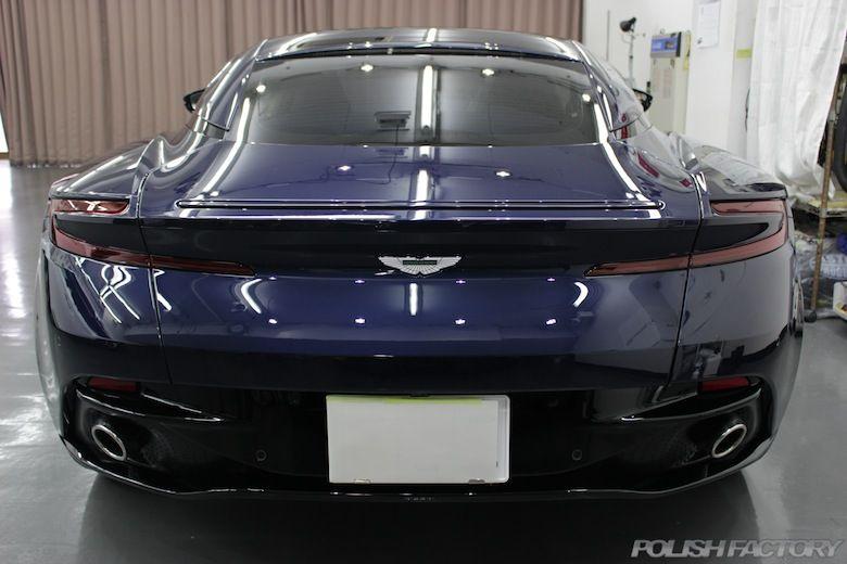 アストンマーチン Aston Martin DB11 V12磨き&プレミアムコーティング