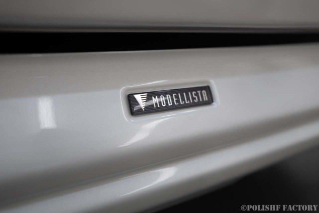 トヨタランドクルーザー200ZX磨きコーティング時のフロントリップモデリスタ画像