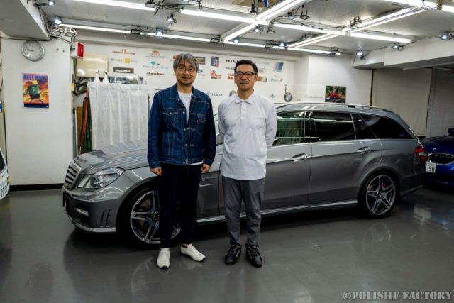 小山薫堂さんの愛車AMGとポリッシュファクトリー及川の画像
