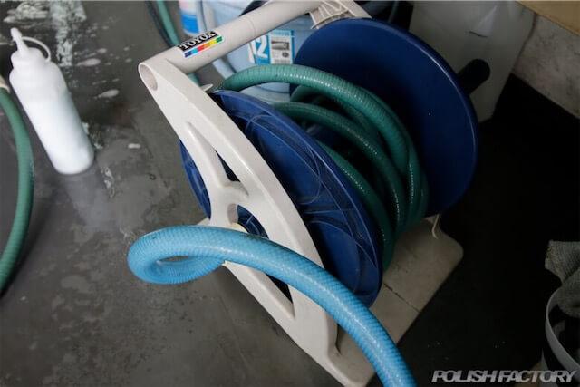 洗車ホースリール画像