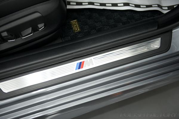BMW 5シリーズ 535i Mスポーツ F10ガラスコーティング施工画像