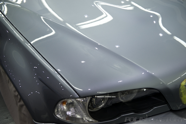 BMW E46 M3 CSLガラスコーティング画像