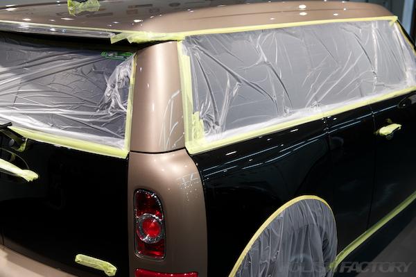 MINI Cooper Clubman Bond Streetガラスコーティング施工画像