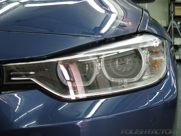 BMWアルピナにコーティング新車画像