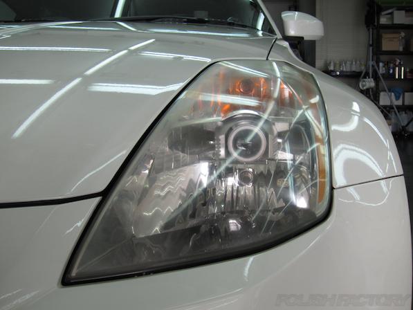 日産 フェアレディZ Z33ガラスコーティング施工画像