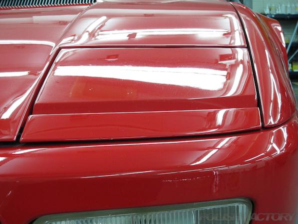 フェラーリFerrari512TRにガラスコーティング