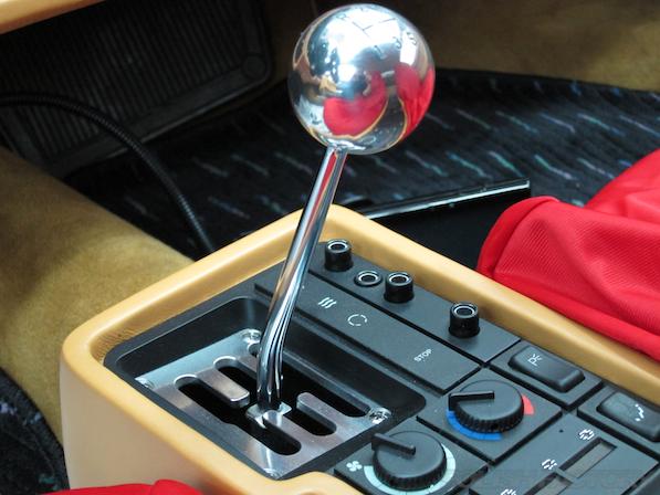 フェラーリFerrari512TRにガラスコーティング、シフトレバー
