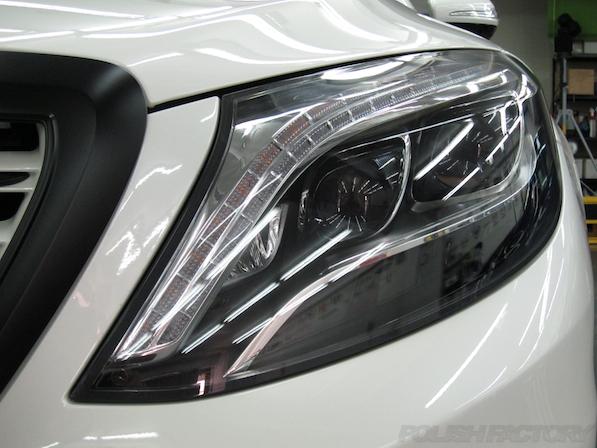 メルセデス・ベンツ S63 AMG 4マチックロングヘッドライト画像