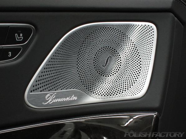メルセデス・ベンツ S63 AMG 4マチックロングガラスコーティング施工、ブルメスターオーディオ画像