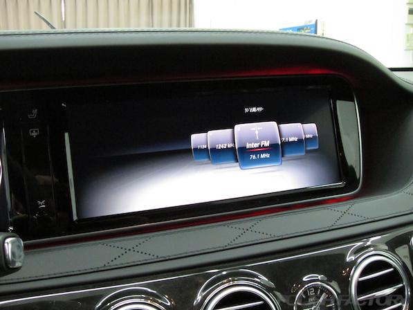 メルセデス・ベンツ S63 AMG 4マチックロングガラスコーティング施工、モニター画像