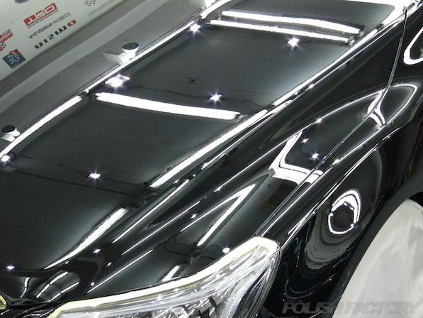 トヨタ マークX(MARK_X)350S G'sガラスコーティング、綺麗な塗装の画像