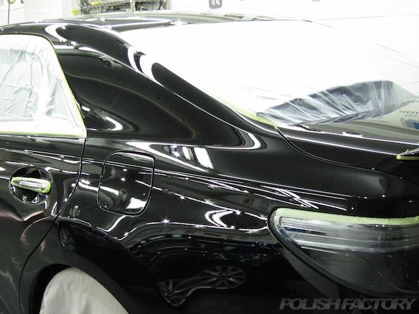 トヨタ マークX(MARK_X)350S G'sガラスコーティング、磨き下地処理画像