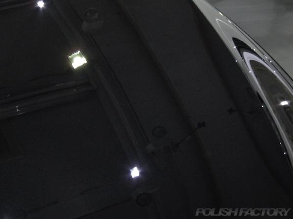 VW フォルクスワーゲン ゴルフヴァリアントにガラスコーティング施工傷除去後画像