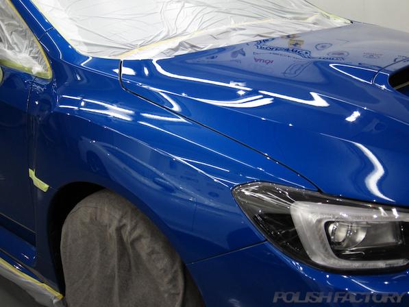 スバル WRX STI Type Sガラスコーティング施工画像