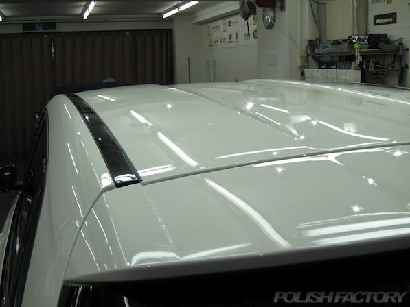 メルセデス・ベンツ B250のガラスコーティング施工時のコーティング施工後画像