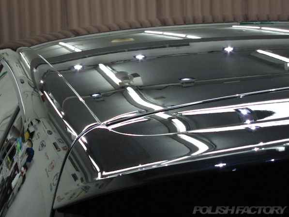 VW ゴルフ GTIにガラスコーティング施工、 コーティング施工後の画像
