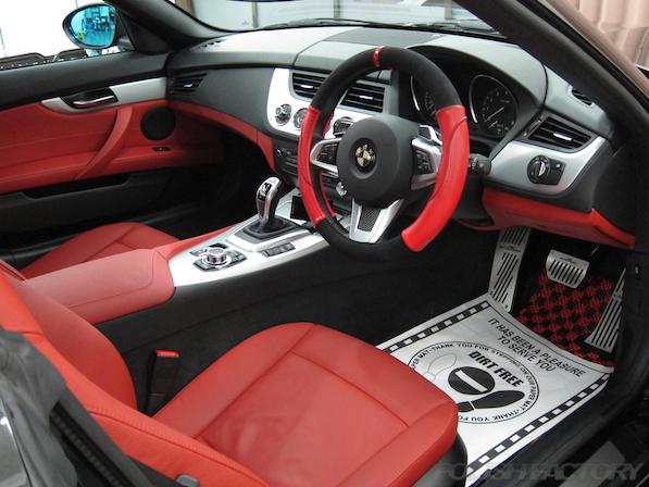 BMWガラスコーティング内装画像