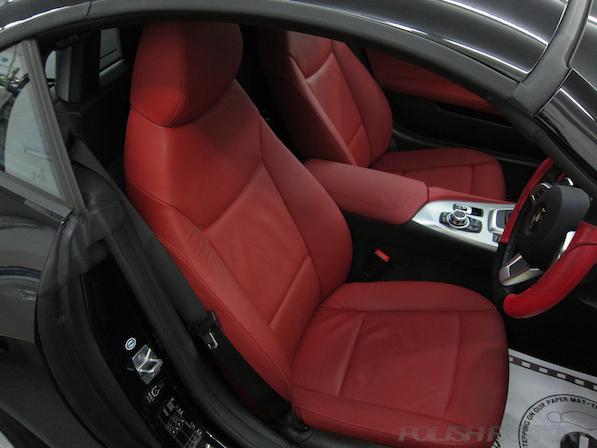BMWZ4ガラスコーティング画像