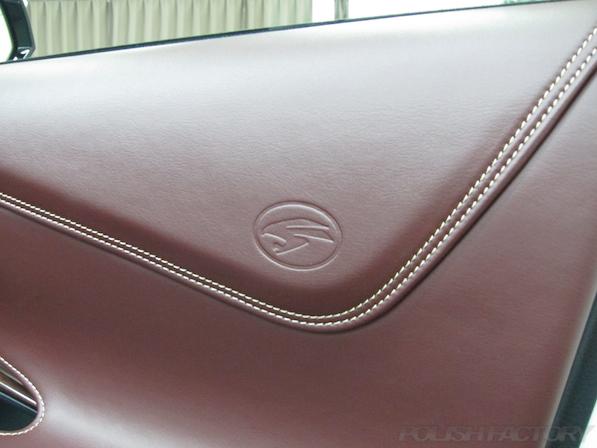 トヨタ ハリアー新車にガラスコーティング施工時の内装画像