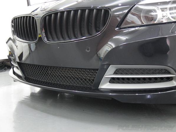 BMW Z4ガラスコーティング施工画像