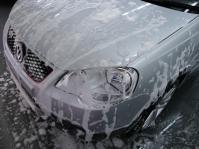 洗車アワアワ