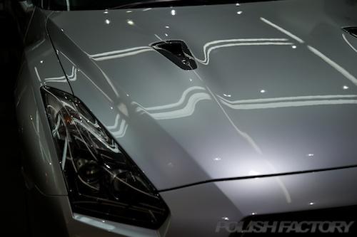 GT-R_磨きガラスコーティング画像